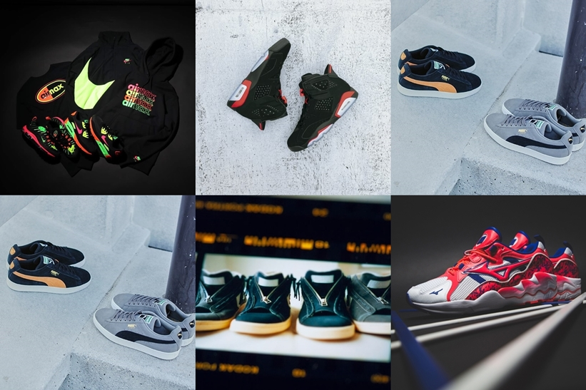 "【まとめ】2/16 発売の厳選スニーカー!(NIKE AIR JORDAN 6 RETRO ""Black/Infrared"")(TOKYO NEON COLLECTION)(adidas Consortium FYW S-97 OG ""White"")(nonnative × CONVERSE PRO-LEATHER HI ""Gray/Navy"")他"