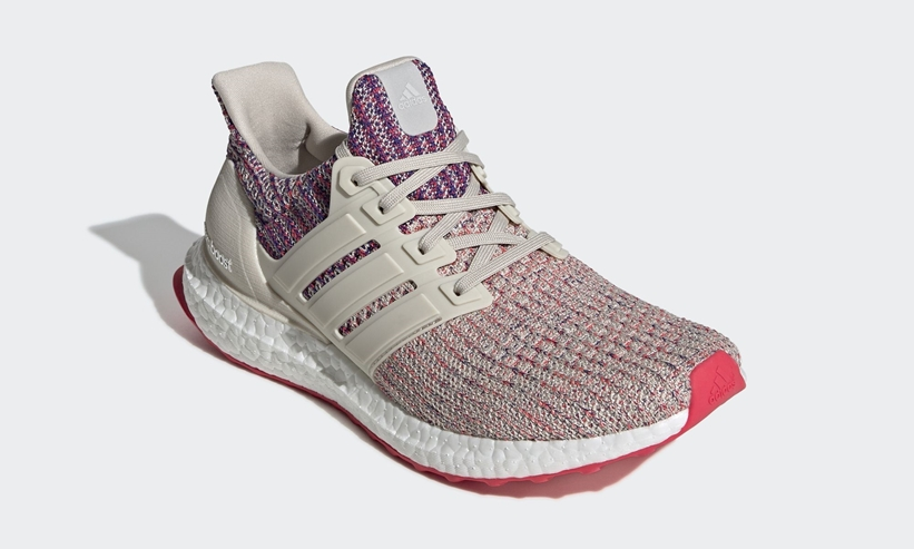 "adidas ULTRA BOOST 4.0 ""Clear Brown/Shock Red/Active Blue"" (アディダス ウルトラ ブースト 4.0 ""クリアブラウン/ショックレッド/アクティブブルー"") [F36122]"