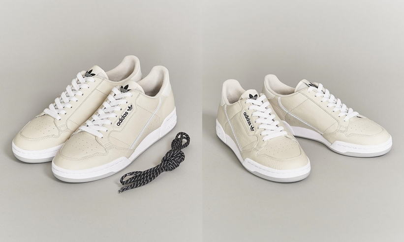 """adidas Originals for BEAUTY&YOUTH 別注 CONTINENTAL 80 """"White""""が3月中旬発売 (アディダス オリジナルス フォー ビューティアンドユース)"""