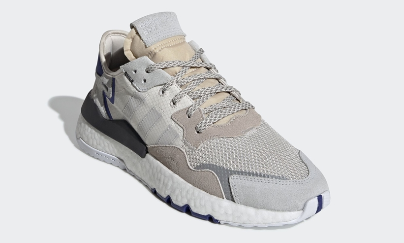 """4/11発売予定!アディダス オリジナルス ナイト ジョガー """"ホワイト/グレー/ブルー"""" (adidas Originals NITE JOGGER """"White/Grey/Blue"""") [F34124]"""