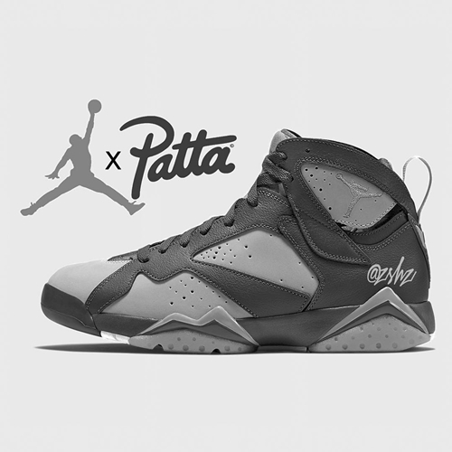 "【リーク】PATTA × NIKE AIR JORDAN 7 RETRO OG SP ""Shimmer/Tough Red"" ""Icicle/Sequoia"" (パタ ナイキ エア ジョーダン 7 レトロ OG SP) [AT3375-200]"