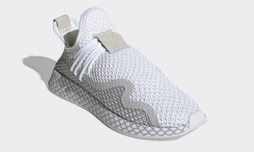 """4/25発売!adidas Originals DEERUPT RUNNER S """"White/Grey Two"""" (アディダス オリジナルス ディーラプト ランナー S """"ホワイト/グレートゥー"""") [DB2684]"""