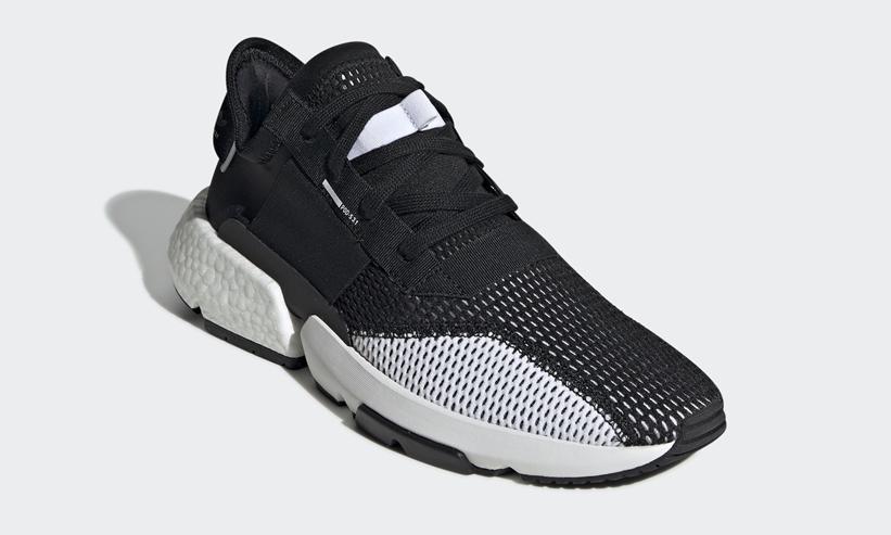 """4/25発売!adidas Originals POD-S3.1 """"White/Core Black"""" (アディダス オリジナルス ピーオーディ """"ホワイト/コアブラック"""") [DB2929,2930]"""