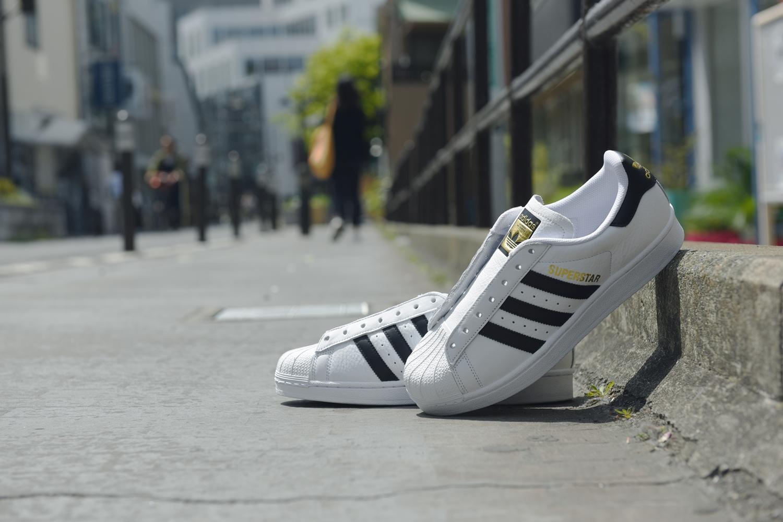 "ABC-MART 40周年記念!adidas Originals SUPERSTAR 1986 ""White/Black""が4/26発売 (アディダス オリジナルス スーパースター) [EG6325]"