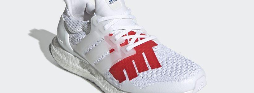 """【5/24 発売】UNDEFEATED × adidas ULTRA BOOST """"WhiteBlack/Red"""" (アディダス アンディフィーテッド ウルトラ ブースト """"ホワイトブラック/レッド"""") [EF1968]"""