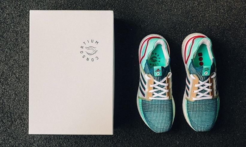 """5/20発売!adidas Consortium ULTRA BOOST 19 """"Green/White"""" (アディダス コンソーシアム ウルトラ ブースト 19 """"グリーン/ホワイト"""") [EE7516]"""