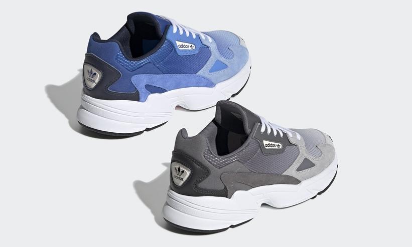 """6月発売!adidas Originals WMNS FALCON """"Glow Blue/Grey"""" (アディダス オリジナルス ウィメンズ ファルコン """"グローブルー/グレー"""") [EE5104,5106]"""