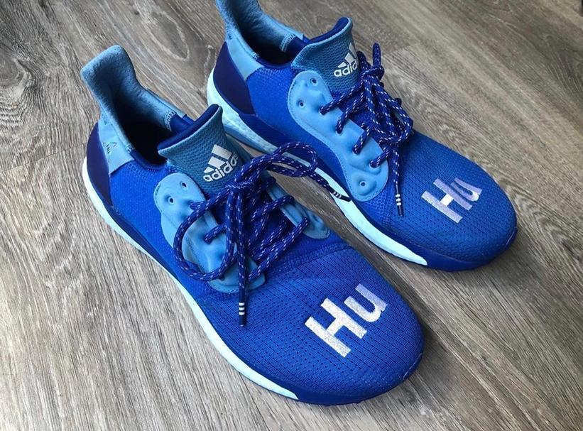 """【リーク】""""ブルー""""カラーのPharrell Williams x adidas Solar Hu (ファレル・ウィリアムス アディダス ソーラー HU """"Blue"""") [EF2377]"""