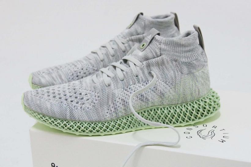 """6/29発売!adidas Consortium RUNNER MID 4D """"White"""" (アディダス コンソーシアム ランナー ミッド 4D """"ホワイト"""") [EE4116]"""
