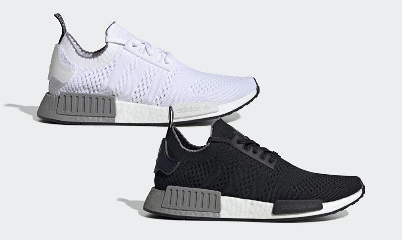 "adidas Originals NMD_R1 ""White/Grey Three"" ""Core Black/Grey Three"" (アディダス オリジナルス エヌ エム ディー アールワン) [EE5074,5075]"