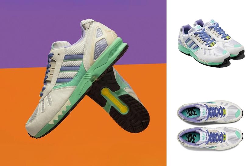 """8/24発売!adidas CONSORTIUM ZX7000 """"White/Lilac Green"""" (アディダス コンソーシアム ZX7000 """"ホワイト/ライラックグリーン"""") [FU8404]"""