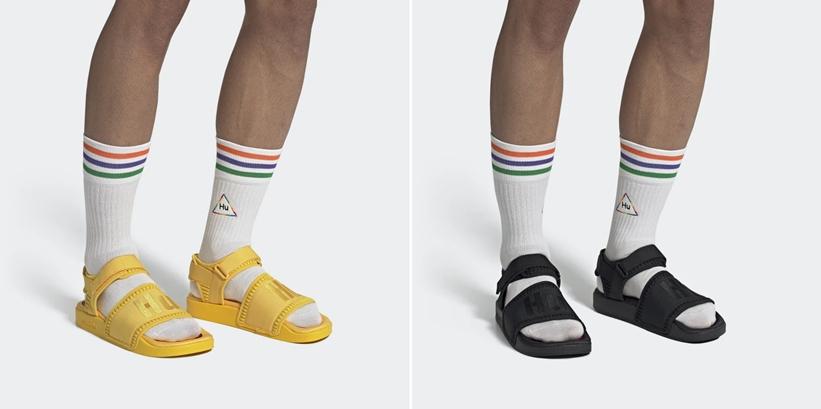9/1,9/13発売!Pharrell Williams x adidas Originals ADILETTE 2.0 TBIITD SANDALS (ファレル・ウィリアムス アディダス オリジナルス アディレッタ) [EG7824,7825,7831][FU7611,7612,7613]