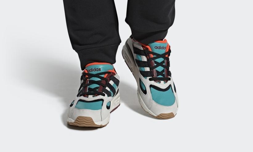 """10/1発売!adidas Originals LXCON 94 """"White/Core Black/Hi-Res Aqua"""" (アディダス オリジナルス レキシコン 94 """"クリスタルホワイト/コアブラック/ハイレゾアクア"""") [EE5295]"""