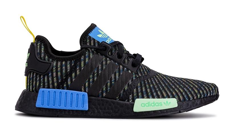 "adidas Originals NMD_R1 ""Black/Blue/Yellow"" (アディダス オリジナルス エヌ エム ディー アールワン ""ブラック/ブルー/イエロー"")"
