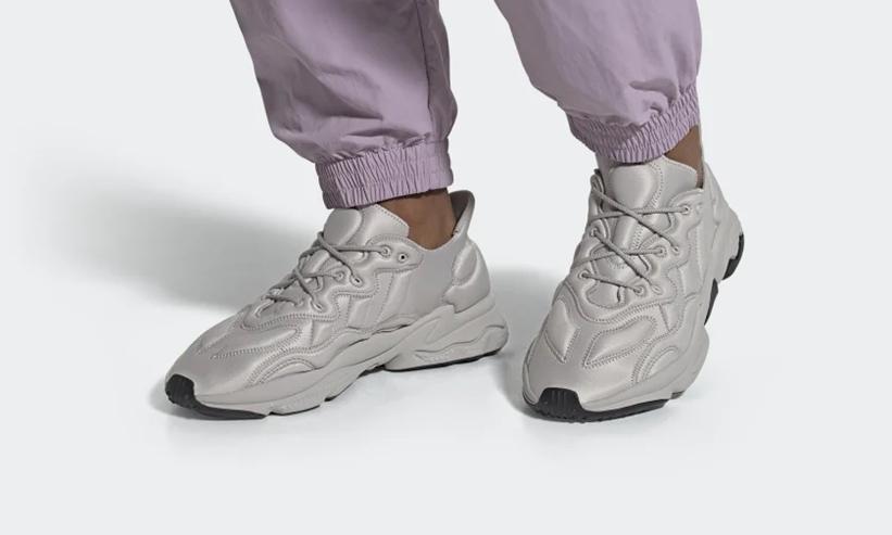 """10/26発売!アディダス オリジナルス オズウィーゴ テック 2カラー (adidas Originals OZWEEGO TECH """"Clear Granite/Clear Brown"""") [FU7644,7646]"""