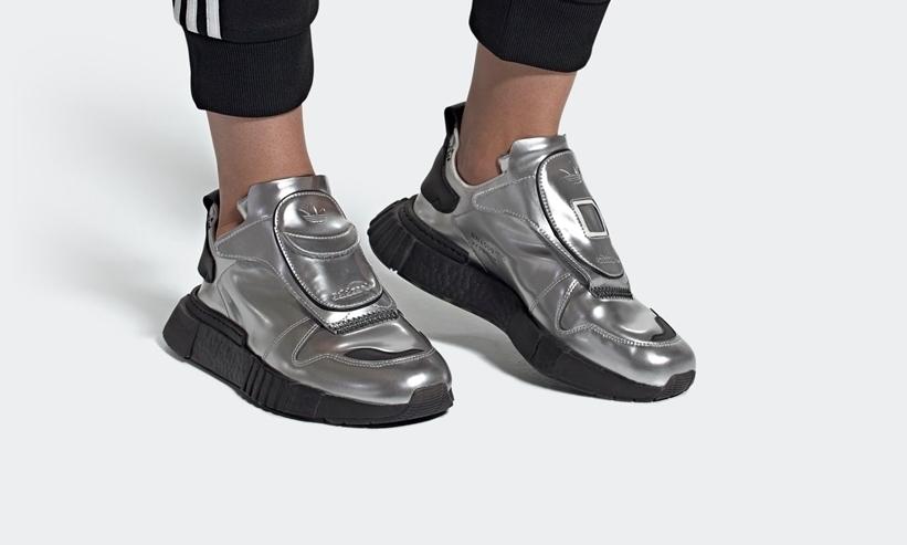 """10/18発売!adidas Originals FUTURPACER """"Silver Met/Black"""" (アディダス オリジナルス フューチャーペーサー """"シルバーメット/コアブラック"""") [EE5002]"""