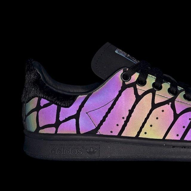 "adidas Originals STAN SMITH ""Core Black/XENO"" (アディダス オリジナルス スタンスミス) [FV4044]"
