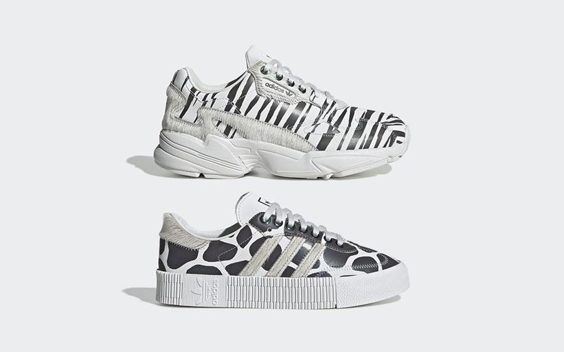 """11月発売!adidas Originals """"Animal Pack"""" FALCON/SAMBAROSE (アディダス オリジナルス """"アニマルパック"""" ファルコン/サンバローズ"""") [FV4049,4057]"""