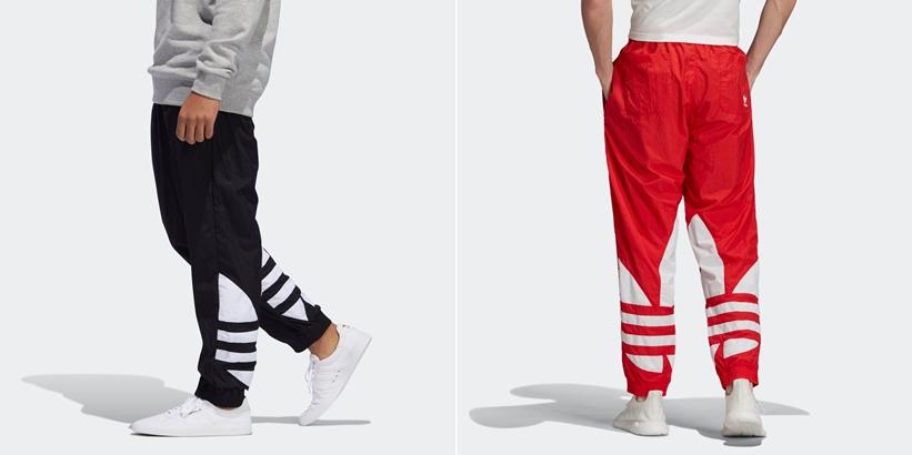 アディダスからビッグサイズのトレフォイルロゴが特徴のレトロ調トラックパンツ「ビッグ トレフォイル トラックパンツ」が11/20発売 (adidas Originals Big trefoil track pants)