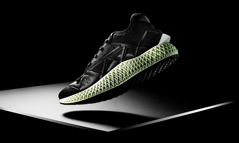 "12/10発売!adidas Y-3 RUNNER 4D II ""Core Black"" (アディダス Y-3 RUNNER 4D 2 ""コアブラック"") [EF2620]"