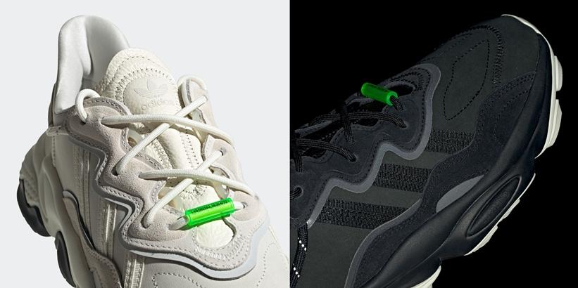 """12/12発売!アディダス オリジナルス オズウィーゴ TR """"オフホワイト/コアブラック"""" (adidas Originals OZWEEGO TR """"Off White/Core Black"""") [EG8354,8355]"""