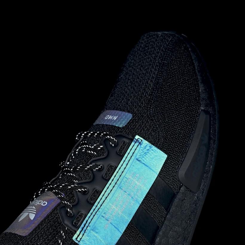 """12/20発売!adidas Originals NMD_R1 V2 """"Core Balck/Reflective"""" (アディダス オリジナルス エヌ エム ディー ブイツー """"コアブラック/リフレクティブ"""") [FW1961]"""