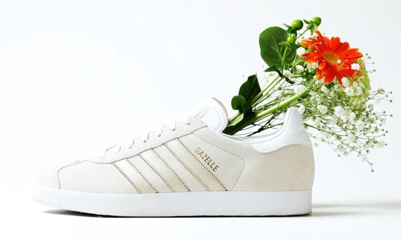 1/24発売!FREAK'S STORE × adidas Originals 別注 GAZELLE White (アディダス オリジナルス フリークスストア ガゼル ホワイト)