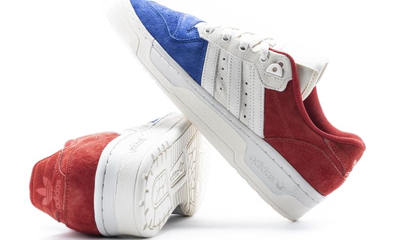 """adidas Originals RIVALRY LOW """"Blue/White/Red"""" (アディダス オリジナルス ライバルリー ロー """"ブルー/ホワイト/レッド"""") [EF6414]"""