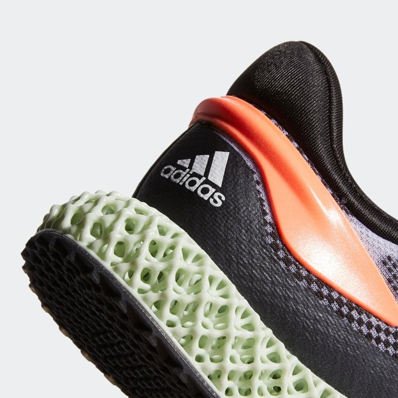 """2/27発売!adidas 4D RUN 1.0 """"White/Black/Signal Coral"""" (アディダス 4D ラン 1.0 """"ホワイト/ブラック/シグナルコーラル"""") [FW1233]"""
