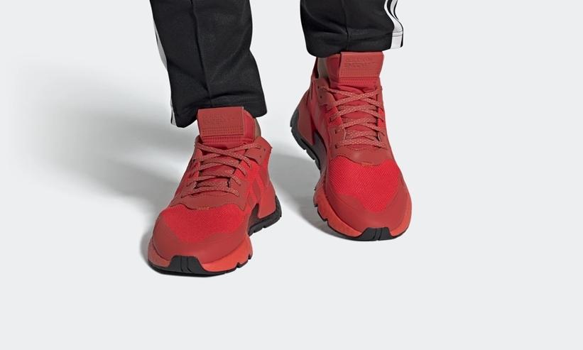 """6/1発売!adidas Originals NITE JOGGER """"Hi-Res Red/Core Black"""" (アディダス オリジナルス ナイトジョガー """"ハイレゾレッド/コアブラック"""") [EF5415]"""