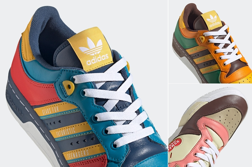 """【発売予定】adidas Originals by HUMAN MADE """"RIVALRY"""" (アディダス オリジナルス バイ ヒューマンメイド ライバルリー) [FY1083,1084,1085]"""