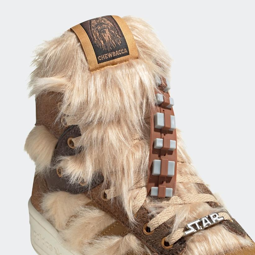 """スターウォーズ × アディダス オリジナルス ライバルリー ハイ """"チューバッカ"""" (STAR WARS adidas Originals RIVALRY HI """"Chewbacca"""") [FX9290]"""