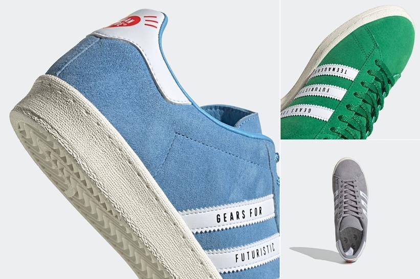 """【発売予定】adidas Originals by HUMAN MADE """"CAMPUS"""" (アディダス オリジナルス バイ ヒューマンメイド キャンパス) [FY0731,0732,0733]"""
