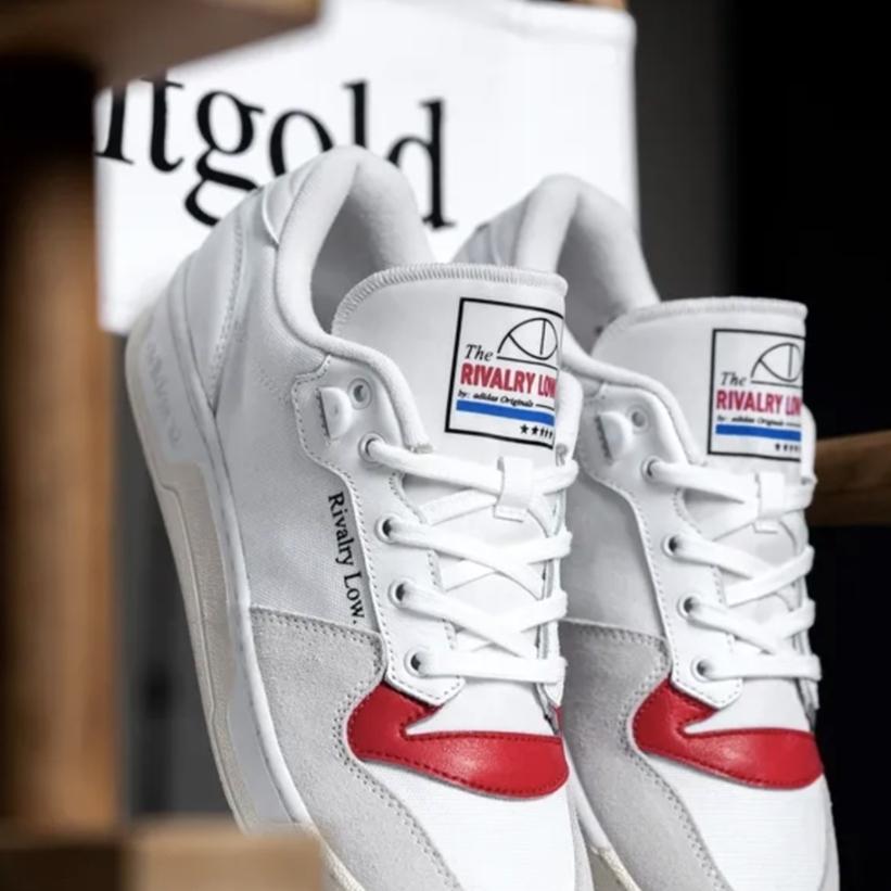 """adidas Originals RIVALRY LOW """"Canvas Hoops"""" (アディダス オリジナルス ライバルリー ロー """"キャンバスフープス"""") [EF6418]"""