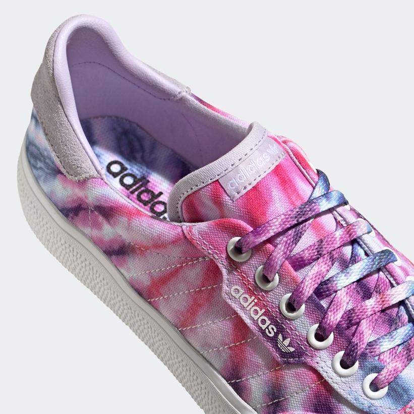 """6/4発売!パープル タイダイを表現した adidas Originals 3MC """"Purple Tint/Off White"""" (アディダス オリジナルス 3MC """"パープルティント/オフホワイト"""") [FY2448]"""