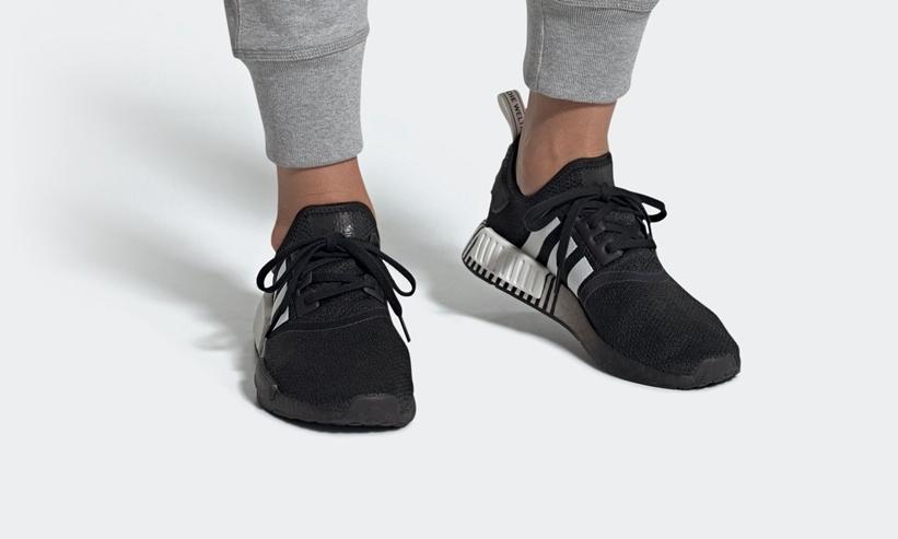 """6/4発売!adidas Originals NMD_R1 """"White/Core Black"""" (アディダス オリジナルス エヌ エム ディー """"ホワイト/コアブラック"""") [FV3648]"""
