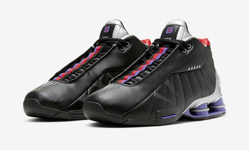 """6/15発売!ナイキ ショックス BB4 """"ブラック/コートパープル/ユニバーシティレッド"""" (NIKE SHOX BB4 """"Black/Court Purple/University Red"""") [CD9335-002]"""