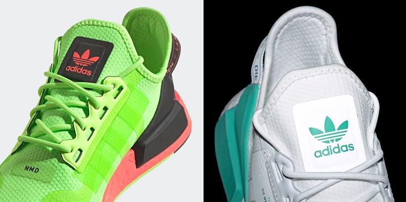 """8/6発売!adidas Originals NMD_R1 V2 """"Signal Green/White"""" (アディダス オリジナルス エヌ エム ディー ブイツー """"シグナルグリーン/ホワイト"""") [FY5920,FY5921]"""