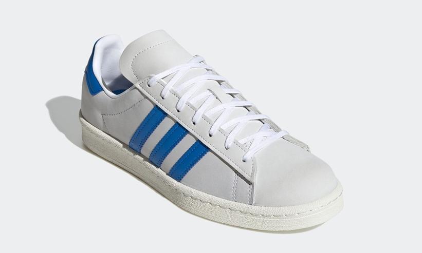 """9/25 発売!adidas Originals CAMPUS 80s """"White/Blue Bird"""" (アディダス オリジナルス キャンパス 80s """"ホワイト/ブルーバード"""") [FW4407]"""