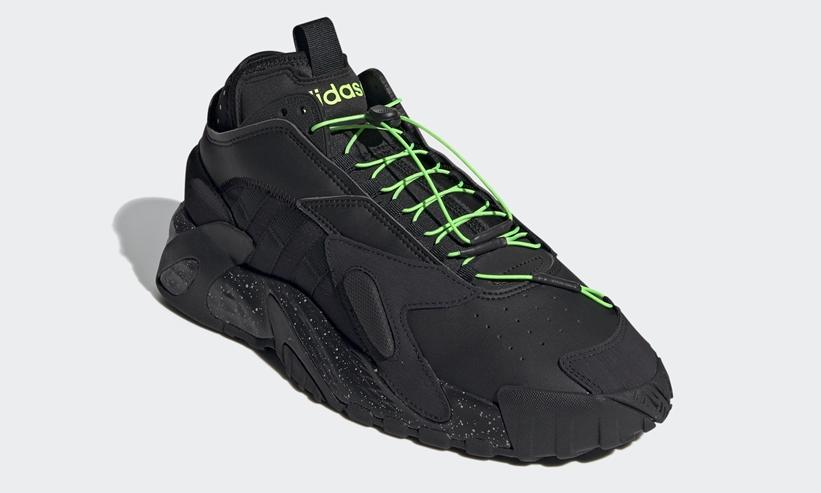 """10/15発売!アディダス オリジナルス ストリートボール """"コアブラック/ソーラグリーン"""" (adidas Originals STREETBALL """"Core Black/Solar Green"""") [FZ1971]"""