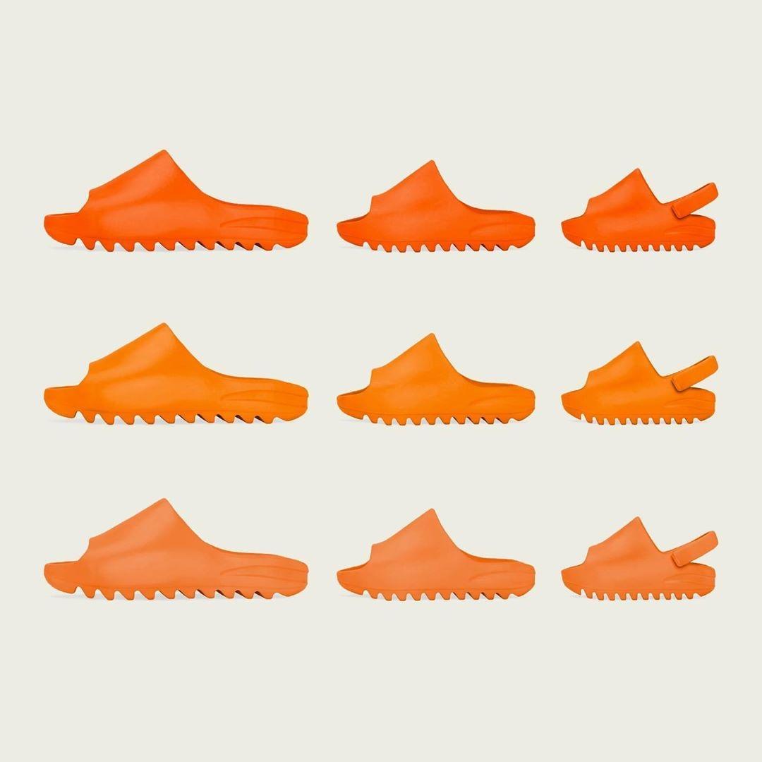 "adidas Originals YEEZY SLIDE ""Orange Color"" (アディダス オリジナルス イージー スライド ""オレンジ"")"