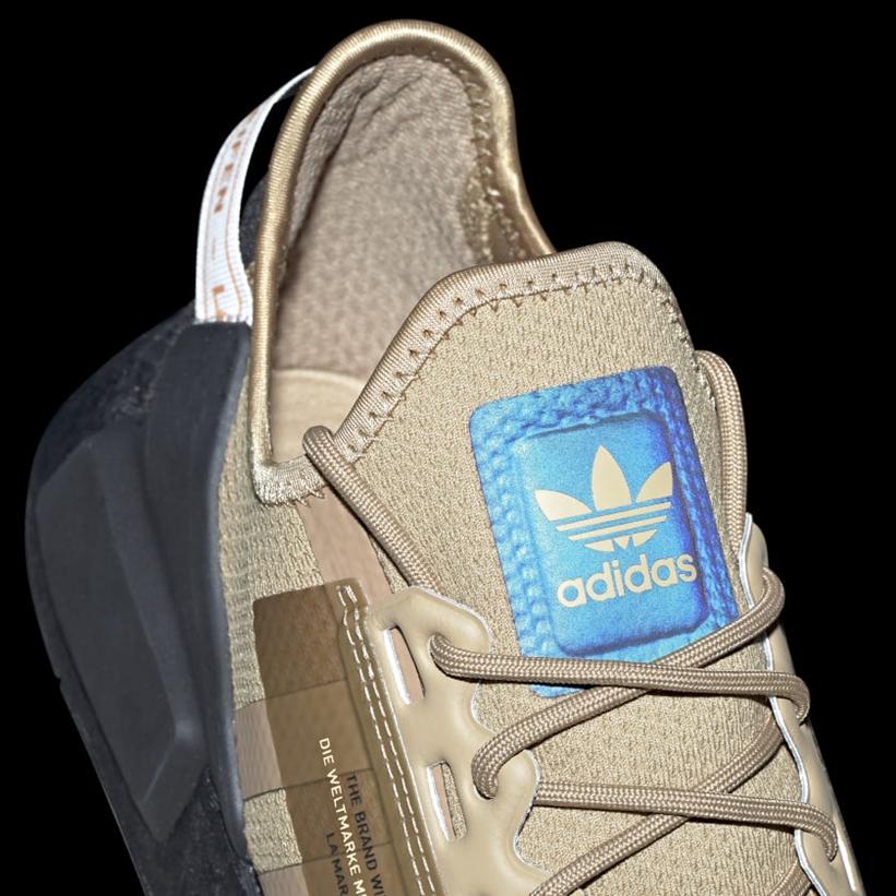 """10/15 発売!adidas Originals NMD_R1 V2 """"Cardboard"""" (アディダス オリジナルス エヌ エム ディー ブイツー """"カードボード"""") [FY6861]"""