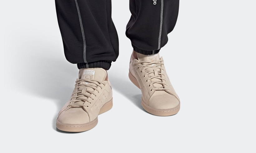 """10/1 発売!透けたアウトソールが目を引く アディダス オリジナルス スタンスミス """"リネン"""" (adidas Originals STAN SMITH """"Linen"""") [FZ3644]"""
