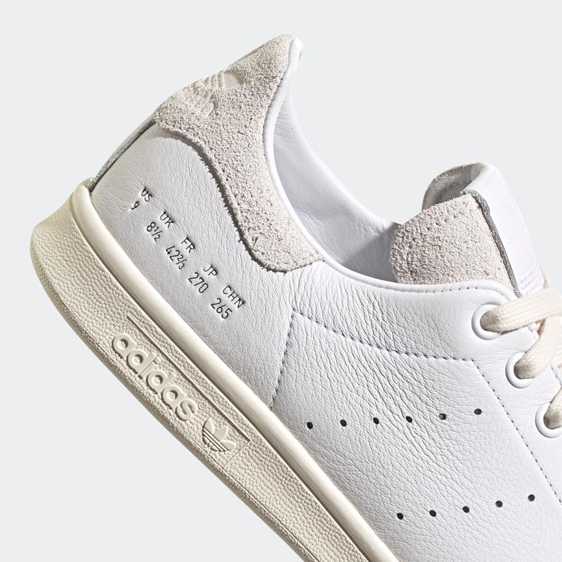 """9/30 発売!サイズ表記が刻印された アディダス オリジナルス スタンスミス """"ホワイト"""" (adidas Originals STAN SMITH """"White"""") [FY0040]"""