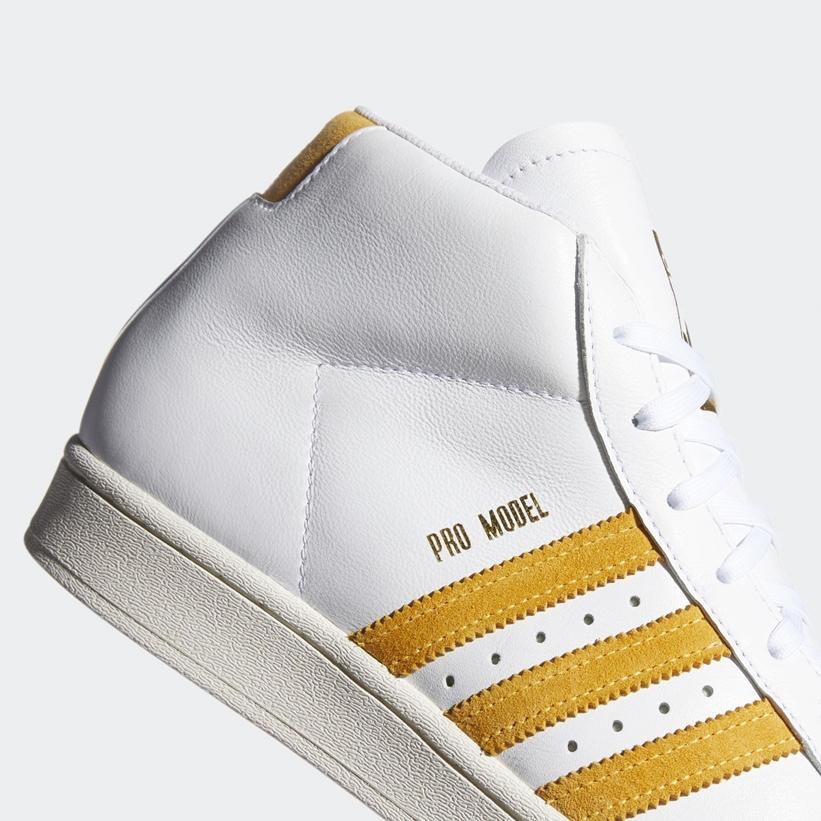 """10/1 発売!アディダス オリジナルス プロモデル ADV """"ホワイト/ソーラーゴールド"""" (adidas Originals PRO MODEL ADV """"White/Solar Gold"""") [FV5925]"""