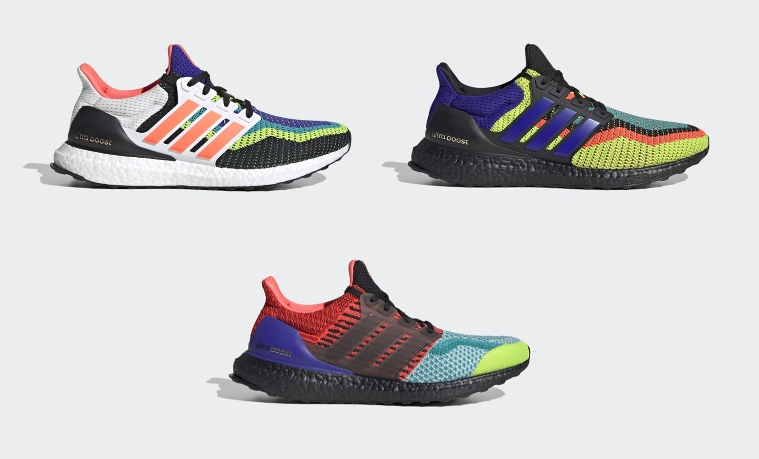 """11/1発売!adidas ULTRA BOOST DNA """"Multi"""" 3カラー (アディダス ウルトラ ブースト DNA """"マルチ"""") [EG5923,FW8710,FW8711]"""