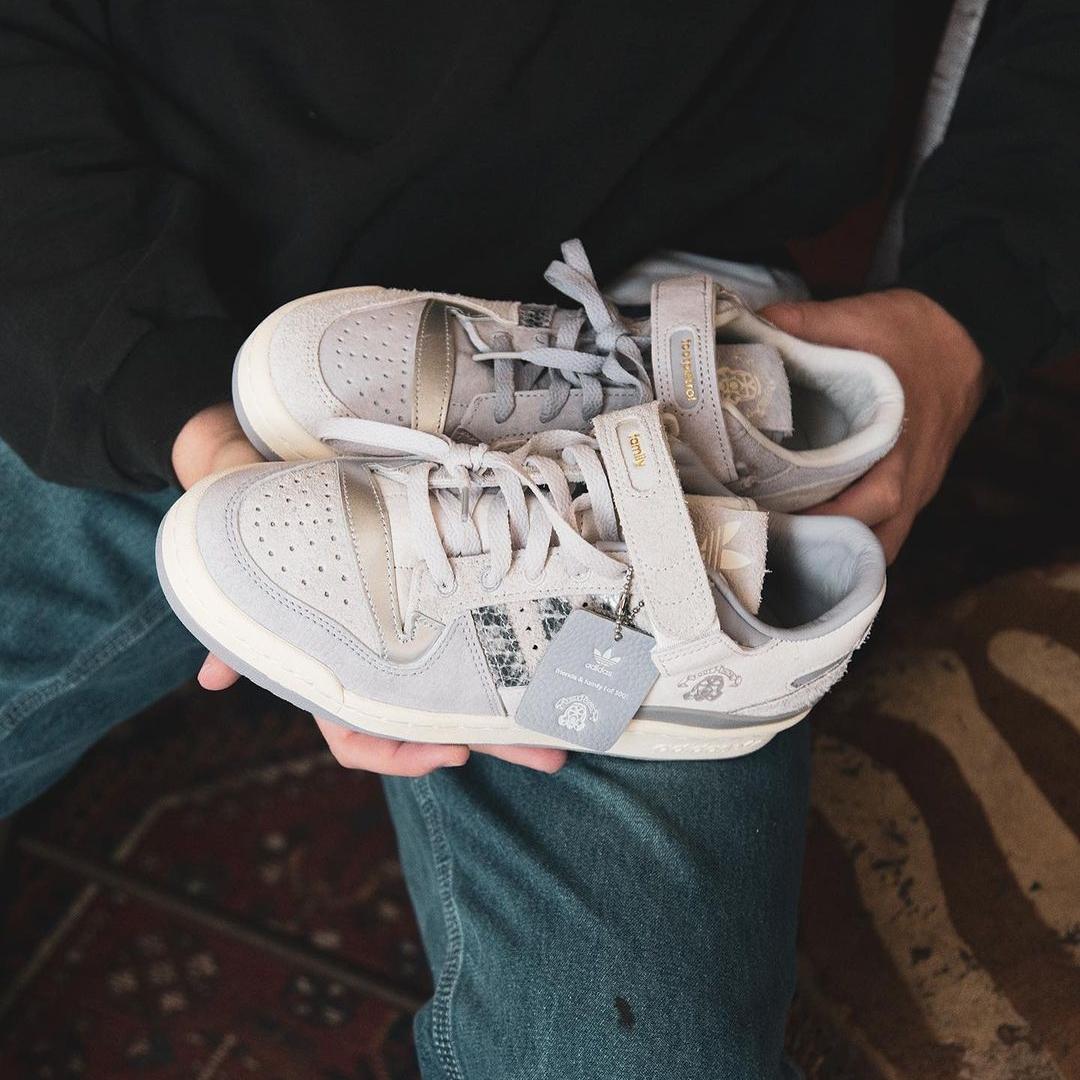 【発売予定】世界300足限定!Footpatrol x adidas Originals FORUM 84 LOW (フットパトロール アディダス オリジナルス フォーラム 84 ロー)
