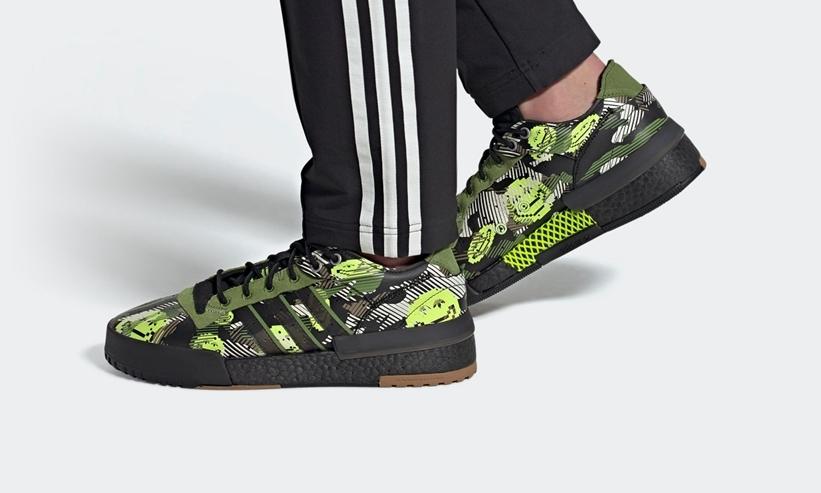 """11/1 発売!adidas Originals RIVALRY RM LOW """"Core Black/Forest Green/Solar Yellow (アディダス オリジナルス ライバルリー RM ロー """"コアブラック/フォレストグリーン/ソーラーイエロー"""") [GZ7841]"""