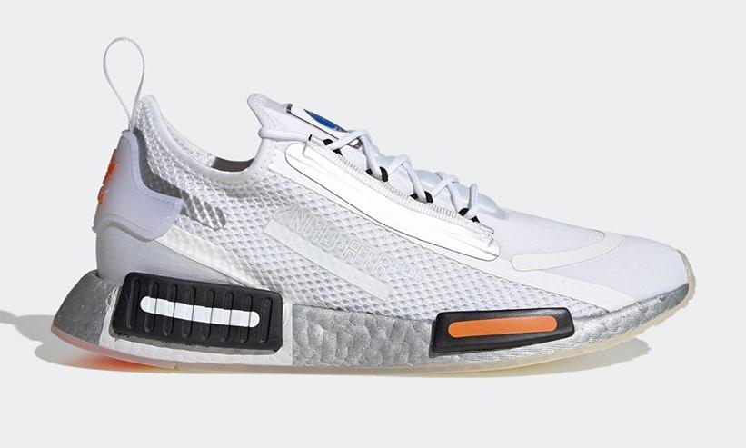 """12/6 発売!NASA × adidas Originals NMD_R1 SPECTOO """"White/Core Black"""" (ナサ アディダス オリジナルス エヌ エム ディー """"ホワイト/コアブラック"""") [FX6818]"""