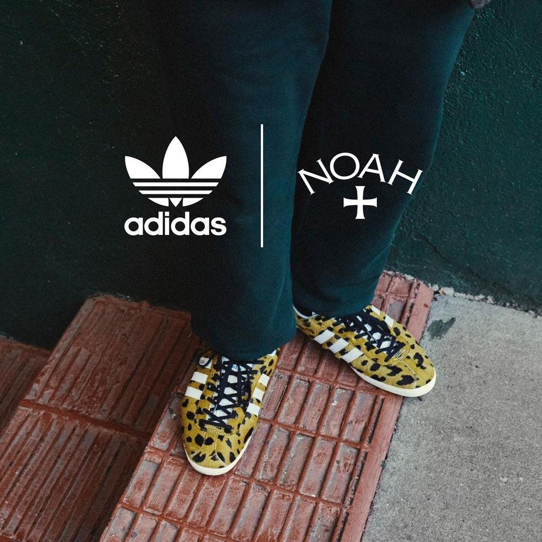 """【12/3 発売予定】NOAH x adidas Originals GAZELLE """"Camo"""" (ノア アディダス オリジナルス ガゼル """"カモ"""") [FY5378,FY5381]"""
